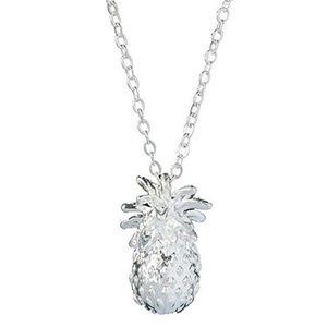 Jewelry - pineapple necklace tropical hawaiian adorable